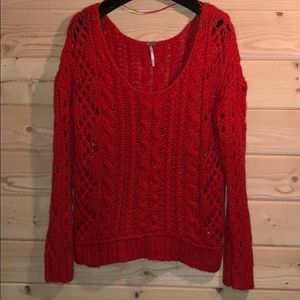 Free People Mohair Blend Sweater
